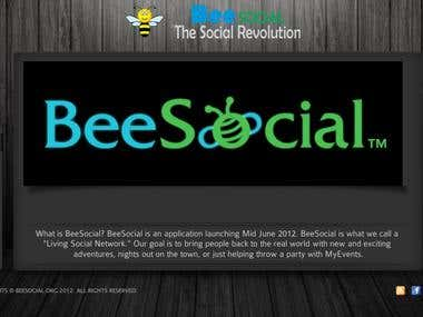 Social application Website