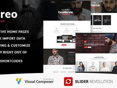 Create Beoreo - WordPress Theme on themeforest.net