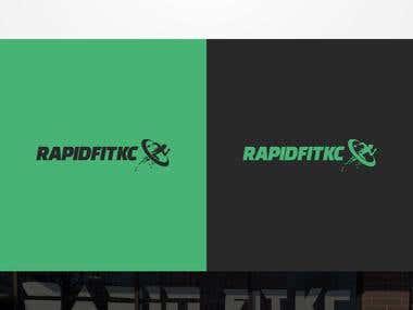 Rapid Fit KC Logo Design