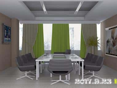This project is Meeting Room Design
