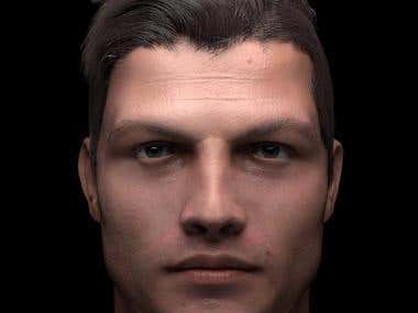 realistic 3d character