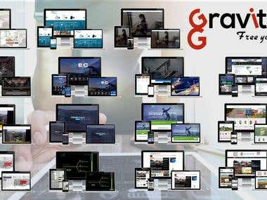 Gravitar Web Sites - Development & Design Websites