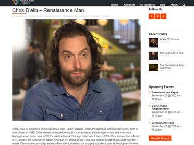 Chris D'elia Article