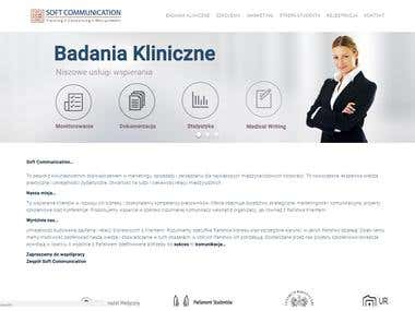 Soft Communication - Business Website