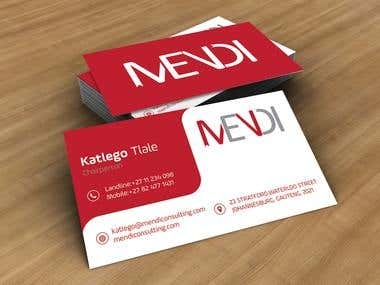 Full stationary for MENDI llc.