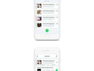Checklist - IOS App