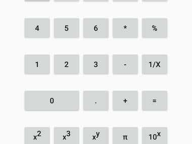 Calculator in Android