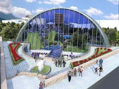 Design of a Park