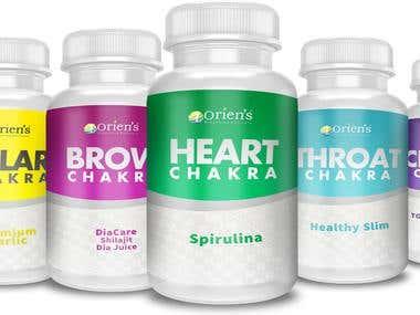 Packaging Design for Orien's