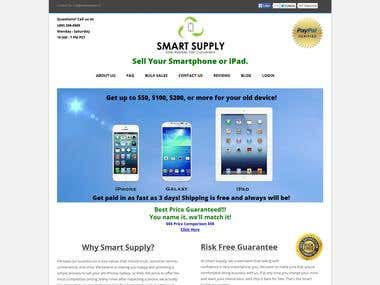Smartphones trade in website