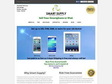 Smartphones trade in website