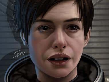Portrait,Caricature