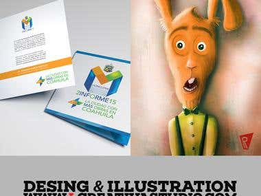 Desing and Illustration