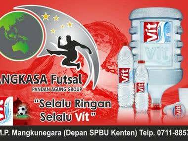 Logo & Shop Sign Design Angkasa Futsal