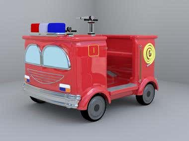 Fire Fighting Ride