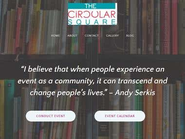 The Circular Square Web creation and digital marketing