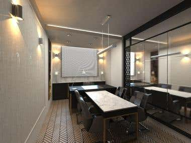 the interior Design for office of a lawyer,