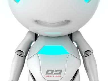 3d Mini robo
