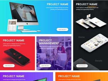 Creative Website PSD and HTML