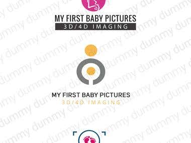"Logo of ""My First Baby"""