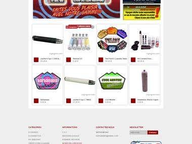 creation of an online shop with prestashop