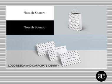 Joseph Soomro Logo design and Brand Identity