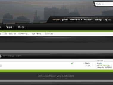 GTA5Planet - Custom VB4 Vbulletin 4.2 Forum