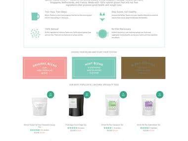 Shopify Skinny Teatox shop