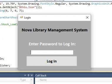 Library Management Software