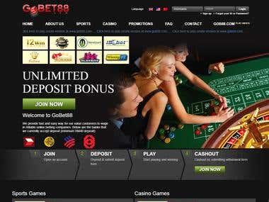 Wordpress Betting Site