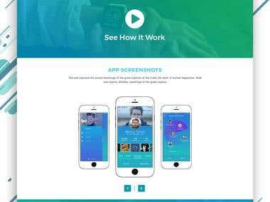app web template