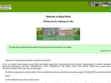 Equalearth.org - Restore Deleted Site