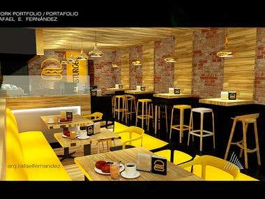 Interior Design Restaurant