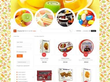 Candy Shop Design 2