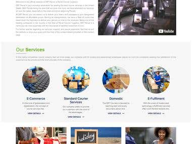 WordPress Home delivery website