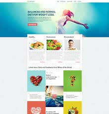 PSD TO HTML, LANDING PAGE