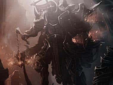 Diablo 3 Crusader fan art