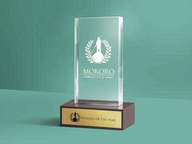 Mokoro Marketing and Advertisement Awards Trophy