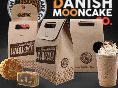 Danish Mooncake Co. Logo