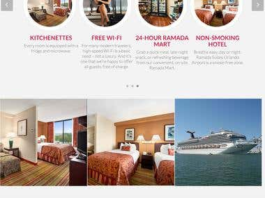 Creative Hotel Website Design & development using ASP.NET