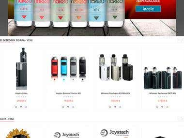 E-Cigarette Shop - Magento