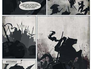 Graphic novel about Rome