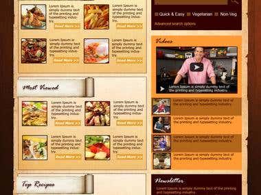 Webpage & Landing page design