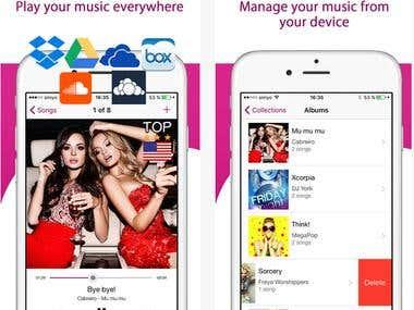 Music Stream app