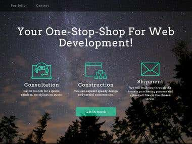 Web-Services Company Site