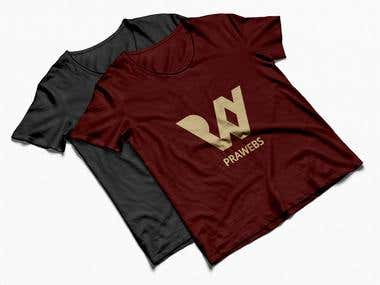 #Branding #T-Shirt Design #prawebs.com