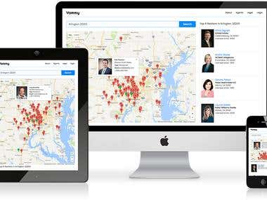 Online Real Estate Agent Directory