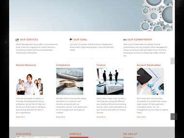 ALTIUM GLOBAL - Human Resource & Finance Website