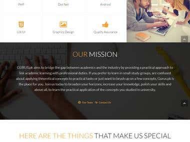 GURUS - Online Coaching Platform