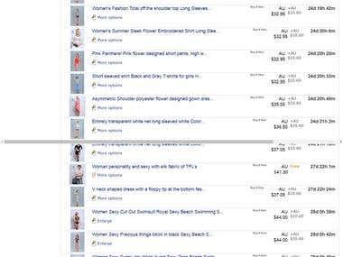 Product upload & Setup eBay - Project ID: 15184243